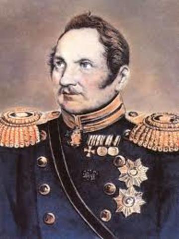 Captain Thaddeus Bellingshausen