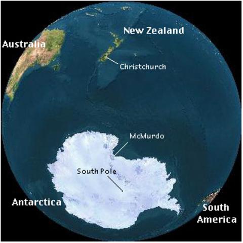 Antarctica established as a continent
