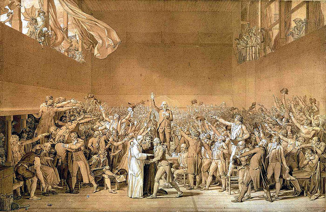The Tennis Court Oath is sworn by the 3rd Estate