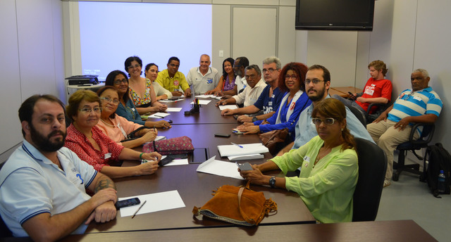 Reunião do MPOG com a FASUBRA sobre o regime de trabalho de 30 horas