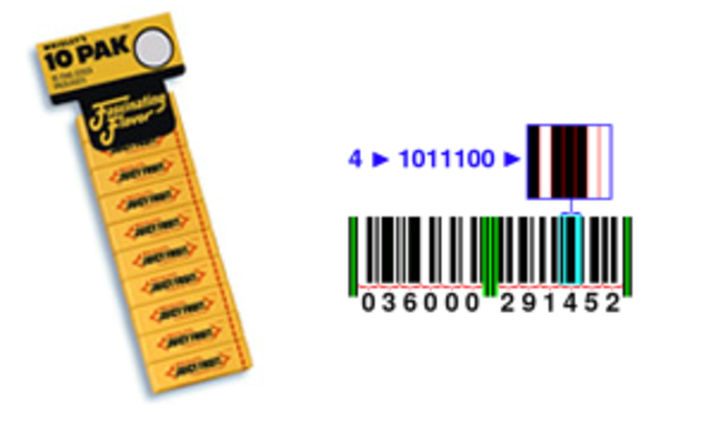 BAR CODES A.K.A. UPC CODES