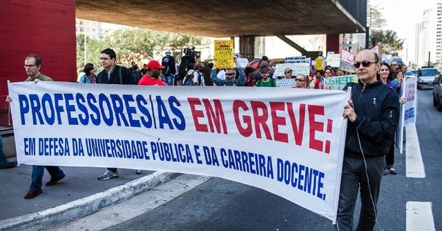 47 IFE em greve