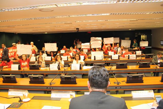 CNG-ANDES-SN participa  da audiência pública na Câmara sobre a PEC 395/2014