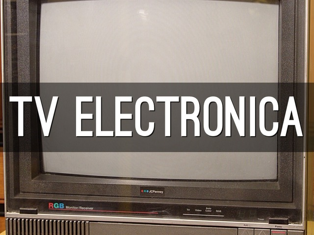 tv electronica