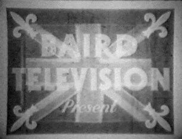 primera señal de television