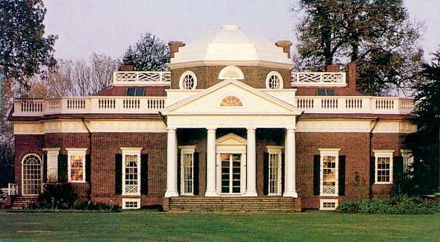 Jefferson retires to Monticello