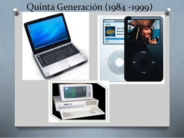 Características Generación No. 5