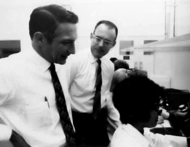 Jack Kilby y Robert Noycea