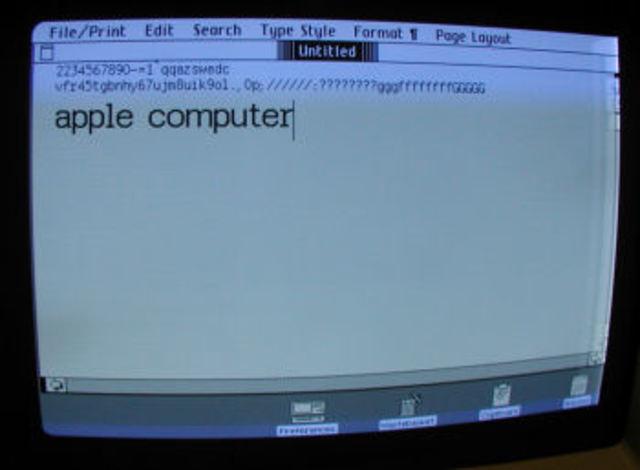 Apple Writer.