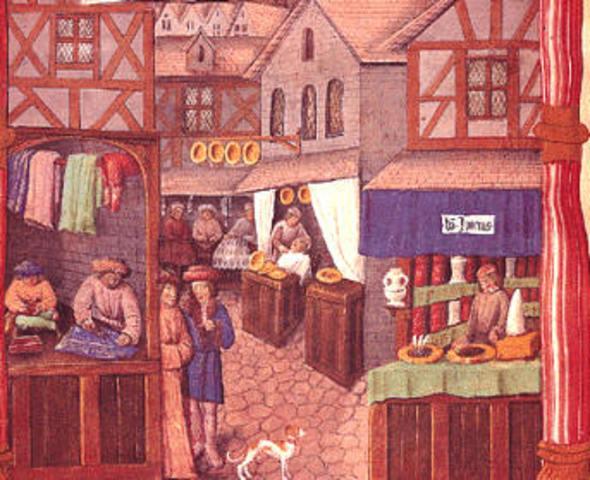 El comercio y el nacimiento de la burguesia: Europa II