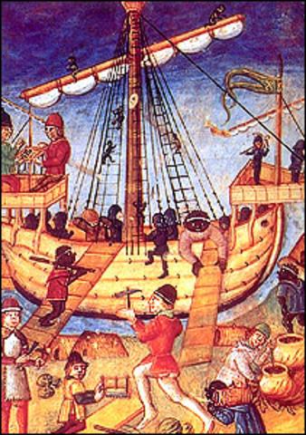 El comercio y el nacimiento de la burguesia; Europa I