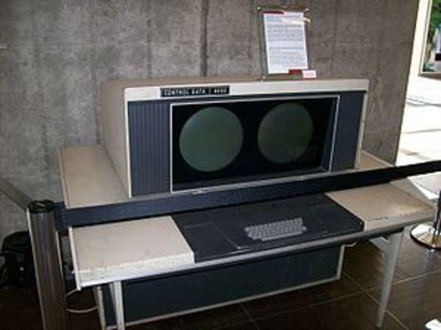 La supercomputadora CDC 6600