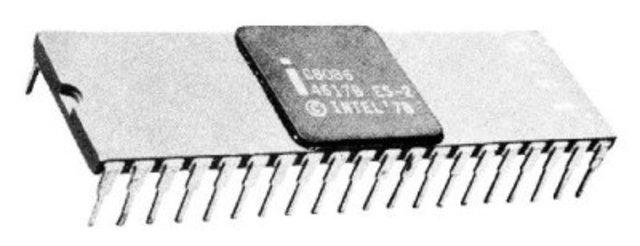 8086 CPU de 16 bits