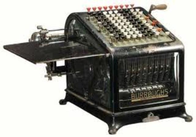 Serie 5000 de Burrough 1958-1964