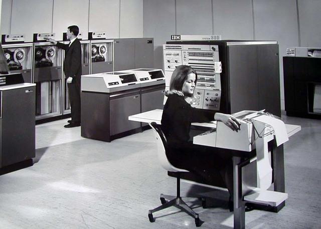 TAREAS PARA COMPUTADORAS 1964-1971