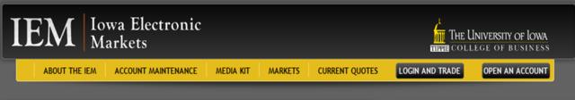 IEM: Iowa Electronic Market est créé. Il servira de modèle à Newsfutures.