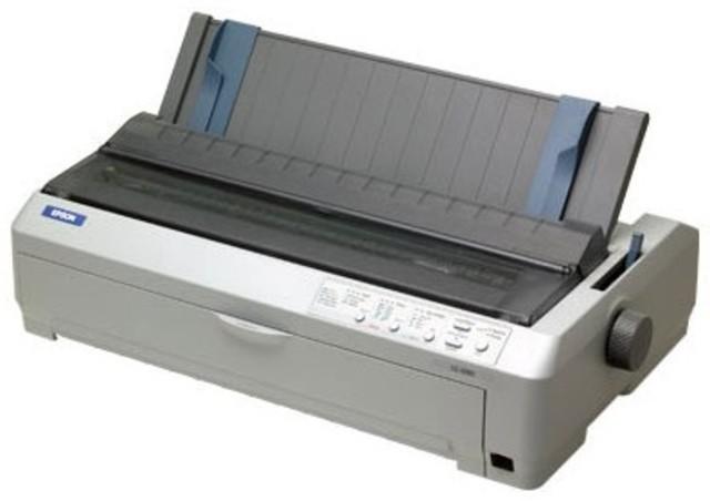 Impresora de matriz de impacto.