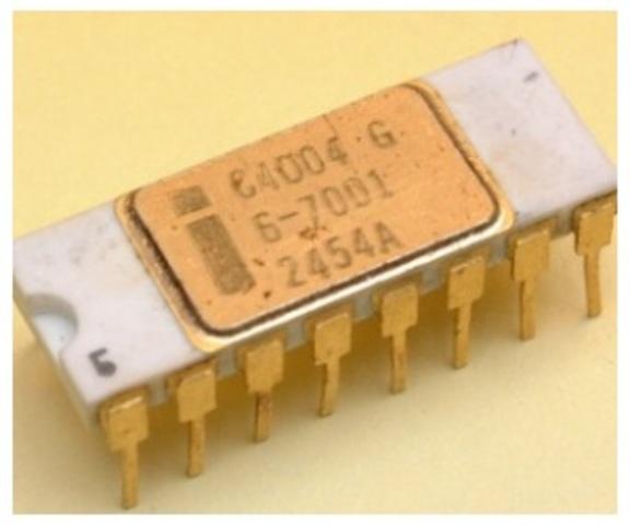 construcción del primer Circuito Integrado o Chip.