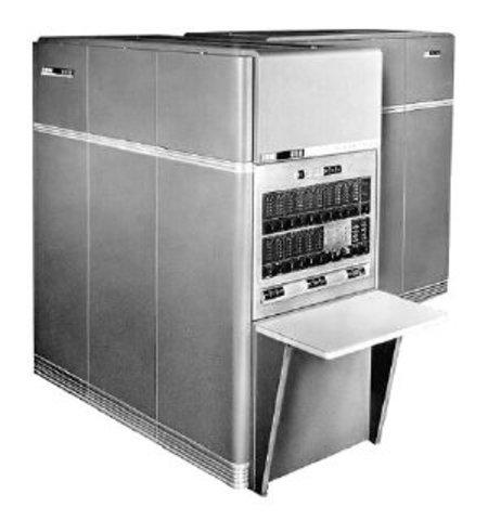 Nuevo Modelo,  IBM 650.