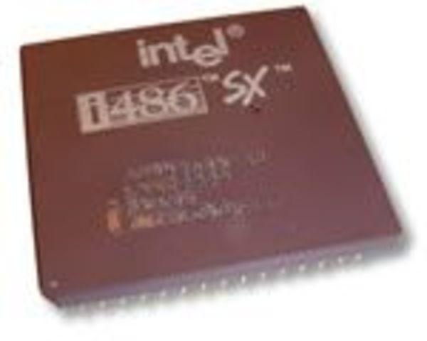 microprocesador 80486 y el i860 chip RISC/coprocesador