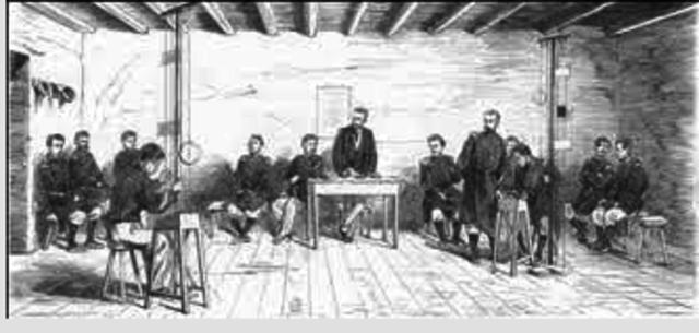 1° Escuela de telegrafia