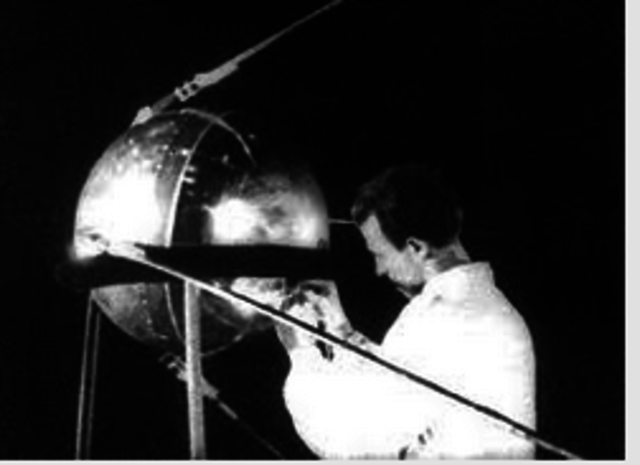 Satelite en orbita