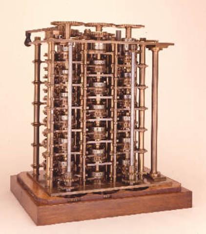1833 Charles babbage (1792-1871) ideo la primera máquina procesadora de información. Ade augusta Byron, ayudo en el concepto de la maquina