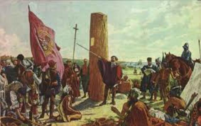 La llegada de los españoles 1521