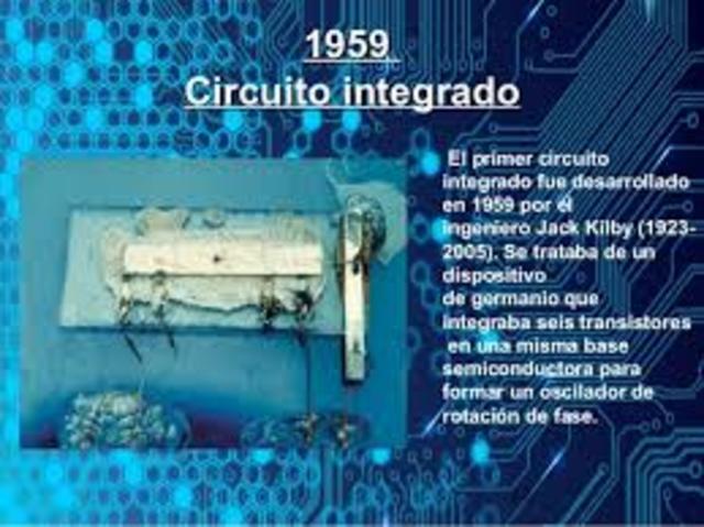 DESCUBRIMIENTO DEL PRIMER CIRCUITO INTEGRADO