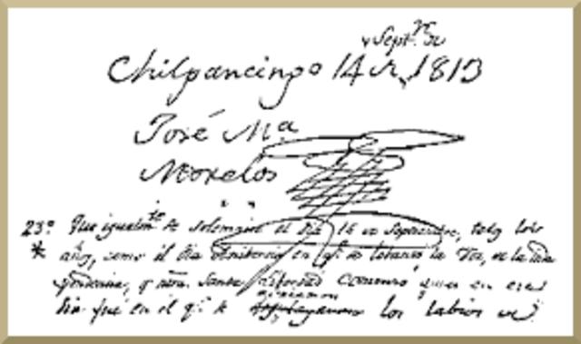 Confiscación de intereses Europeos 1813