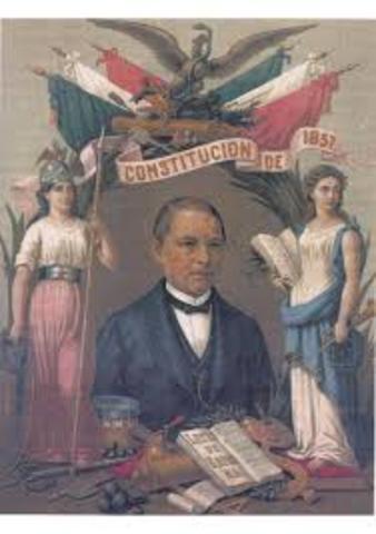 constitucion federal de Juarez