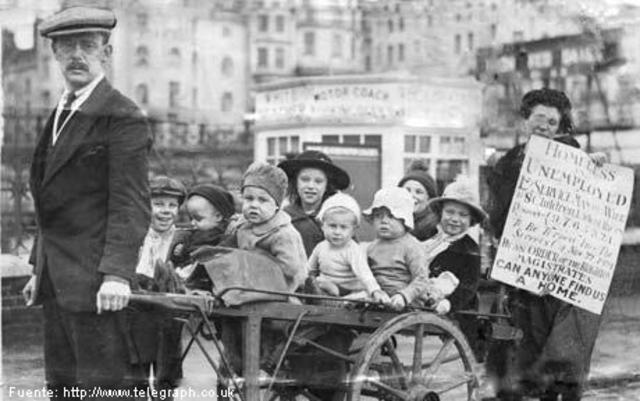 El impacto de la posguerra en el mundo (después de la primera guerra mundial)