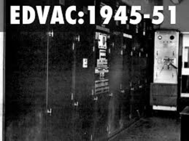 EDVAC, Segunda computadora