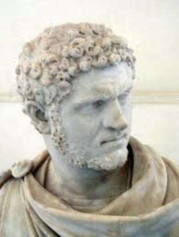 Romulo, funda Roma en el año 753 a.C.