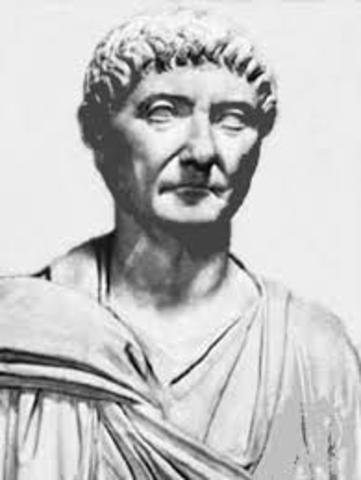 Quinto Rey de Roma Tarquino el Antiguo 616-579 a.C.