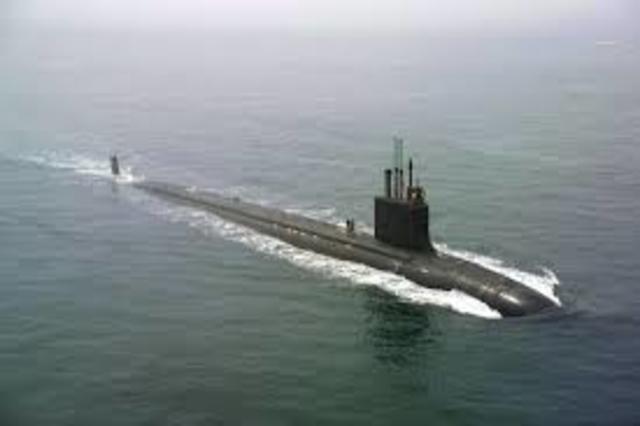 First submarine attack