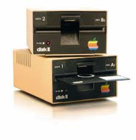 Lanzamiento de Apple Disk II
