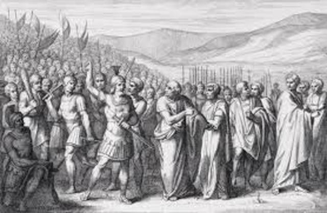 la tribu de la plebe, aun cuando no eran magistrados, podian impedir por medio de su veto los actores de los magistrados que pudiesen afectar a los plebeyos.