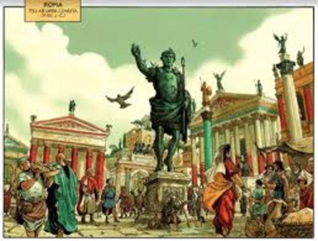 La primera fase del imperio 27 a.C- 286 d.C. se denomino principado o diarquía.