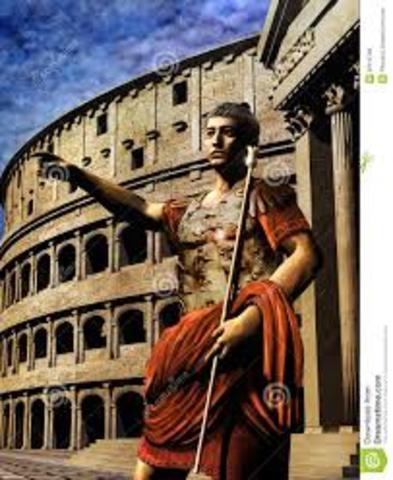 los emperadores romanos concentraron en sus manos el poder legislativo y expresaron su voluntad en constituciones imperiales, unica fuente del derecho que subsitió.