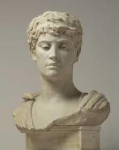 Honorio hijo de Teodosio, emperador del imperio occidente.