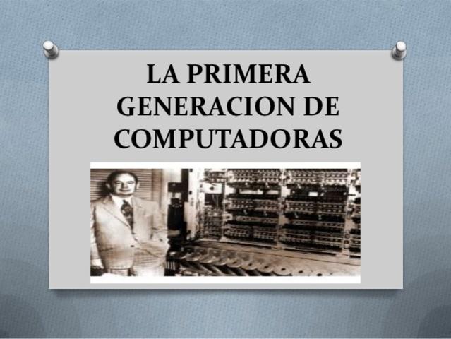 VIDEO 1era Generación de Computadoras
