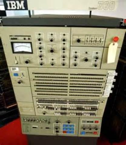 Surguimiento de la computadora IBM 360