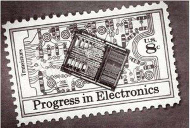 Creacion del primer microprocesador