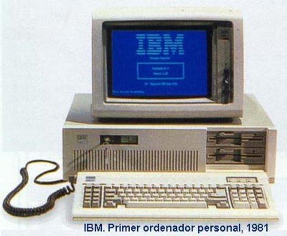 Primer ordenador personal IBM PC