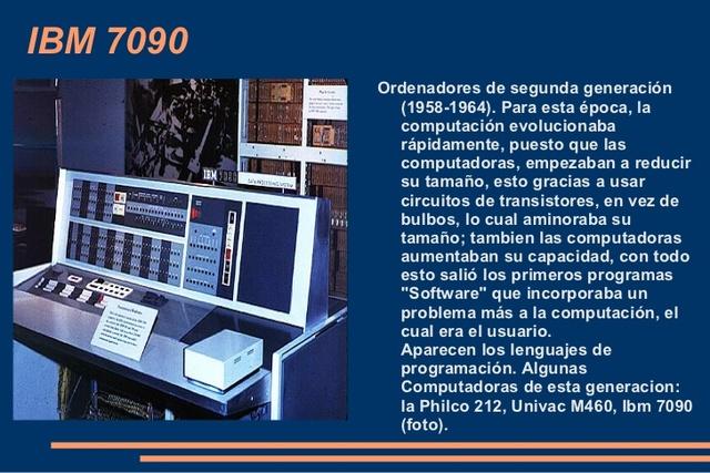 Creación y avances de más computadoras.