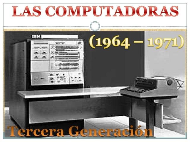 VIDEO Tercera generación de computadoras.