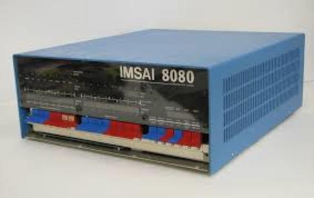8080. El primer CPU de Intel