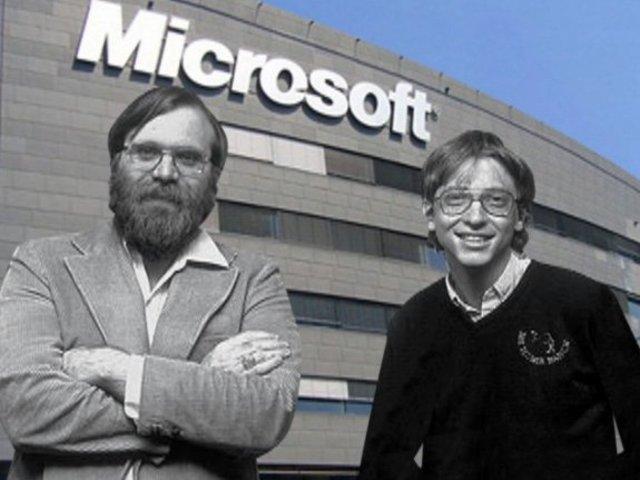 Bill Gates y Paul Allen