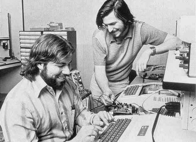 Steven Wozniak y Steven Jobs